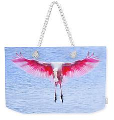 The Pink Angel Weekender Tote Bag