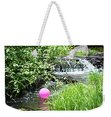 The Pink Balloon Weekender Tote Bag