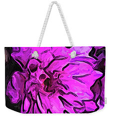 The Pink Flower With The Lavender Edges Weekender Tote Bag
