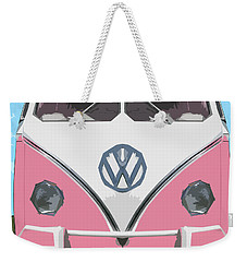 The Pink Love Bus Weekender Tote Bag