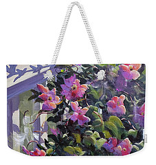 The Pink Morning Weekender Tote Bag