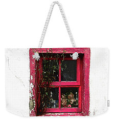 The Pink Window Weekender Tote Bag