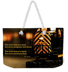 The Places You Will Go... Weekender Tote Bag
