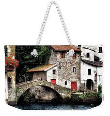Weekender Tote Bag featuring the photograph The Pleasure Garden by Jim Hill