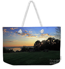 The Point At Sunrise Weekender Tote Bag