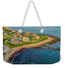 The Point At Weekapaug Weekender Tote Bag
