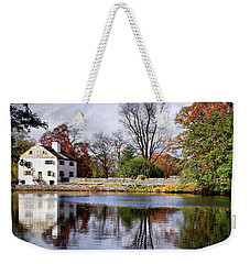 The Pond And The Manor House Weekender Tote Bag