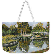 The Pond At Maple Grove Weekender Tote Bag