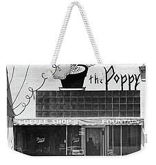 The Poppy, Coffee Shop, Fountain, Alvarado Street, Monterey Circ Weekender Tote Bag