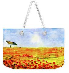The Poppy Picker Weekender Tote Bag
