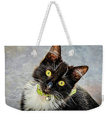 The Portrait Of A Cat Weekender Tote Bag