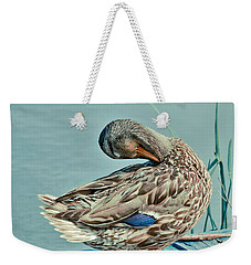 The Pose Weekender Tote Bag by Aimelle