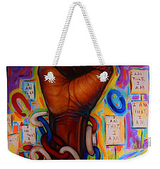 The Power Weekender Tote Bag by Emery Franklin