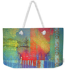 Weekender Tote Bag featuring the digital art The Power Of Colour by Tara Turner