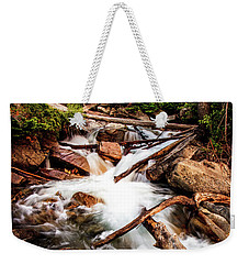 The Power Of Nature - Little Cottonwood Creek Weekender Tote Bag