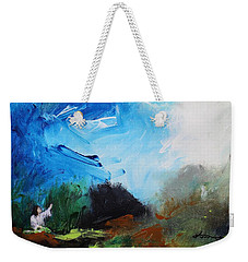 The Prayer In The Garden Weekender Tote Bag by Kume Bryant