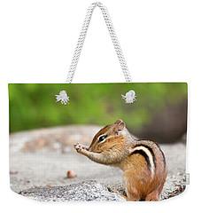 The Praying Chipmunk Weekender Tote Bag