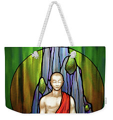 The Praying Monk Weekender Tote Bag