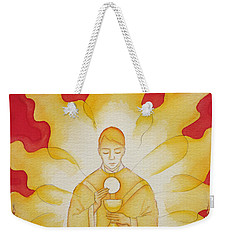 The Presence Of Jesus Christ In The Holy Eucharist Weekender Tote Bag