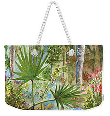 Weekender Tote Bag featuring the painting The Preserve by Arthur Fix