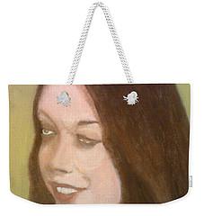 The Pretty Brunette Weekender Tote Bag