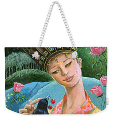 The Princess And The Crow Weekender Tote Bag