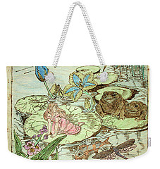 The Princess And The Frogs Weekender Tote Bag