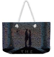 The Princess Bride Script Mosaic Weekender Tote Bag