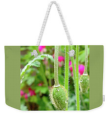 The Promise Of April Showers Weekender Tote Bag by Bruce Carpenter