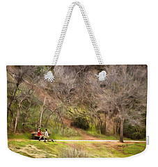 The Proposal Weekender Tote Bag by Ricky Dean