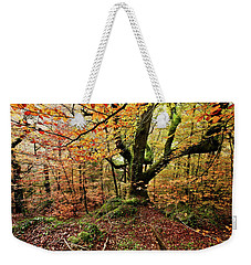 The Protector Weekender Tote Bag by Jorge Maia