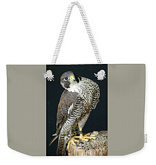 The Proud Falcon Weekender Tote Bag