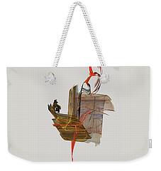 The Proud Rooster Weekender Tote Bag