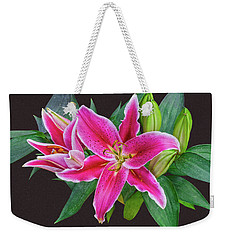 The Pulchritude Of Lady Lily Weekender Tote Bag