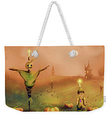 The Pumpkin Thief Weekender Tote Bag