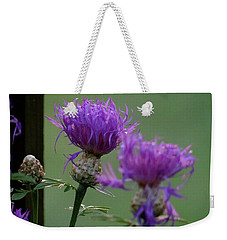 The Purple Bloom Weekender Tote Bag