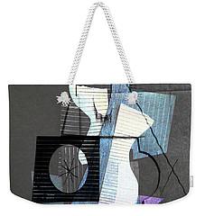 The Purple Sax Weekender Tote Bag