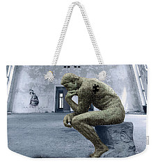Weekender Tote Bag featuring the photograph Puzzled by Juli Scalzi