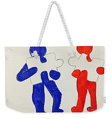 The Puzzles People  Weekender Tote Bag