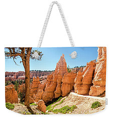 Weekender Tote Bag featuring the photograph The Queens Garden Trail by Margaret Pitcher