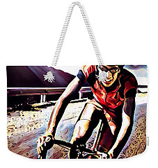The Race Weekender Tote Bag by Maria Watt