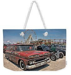 The Race Of Gentlemen Weekender Tote Bag