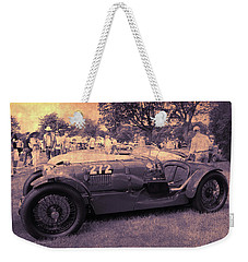 The Racer Weekender Tote Bag