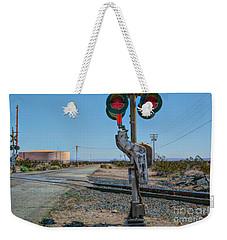 The Railway Crossing Weekender Tote Bag