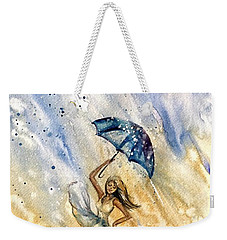 The Rain Weekender Tote Bag