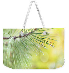Weekender Tote Bag featuring the photograph The Rain The Park And Other Things by John Poon