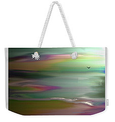 The Rainbow Pathway Weekender Tote Bag