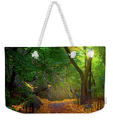 The Ramble In Central Park Weekender Tote Bag by Mark Andrew Thomas