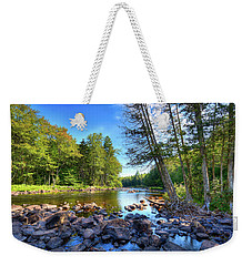The Raquette River Weekender Tote Bag by David Patterson