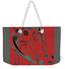 The Rare Green-spotted Elf Weekender Tote Bag